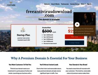 freeantivirusdownload.com screenshot