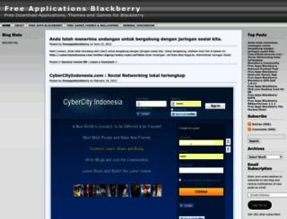 freeappsblackberry.wordpress.com screenshot