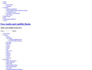 freeaudiobooks.ws screenshot