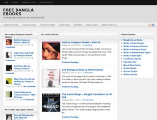 freebanglaebooks.com screenshot