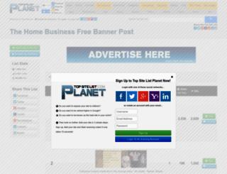 freebannerpost.top-site-list.com screenshot
