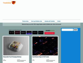 freebbble.com screenshot