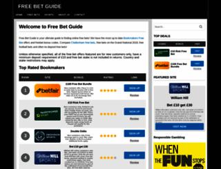 freebetguide.com screenshot