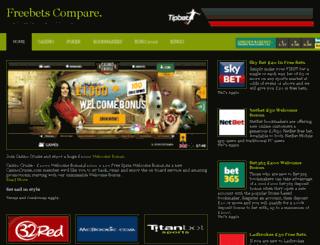 freebetscompare.com screenshot