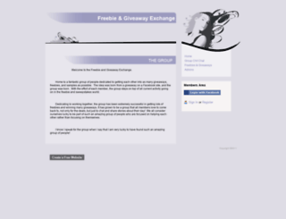 freebie-giveaway-exchange.webs.com screenshot