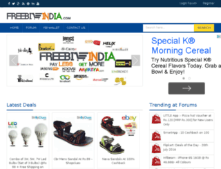 freebieindia.com screenshot