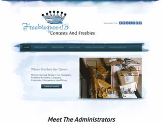 freebiequeen13.net screenshot