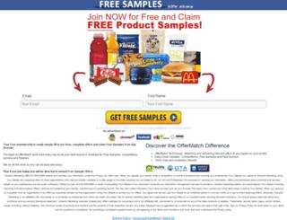 freebies.offermatch.com.au screenshot