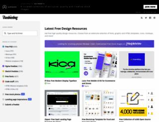 freebiesbug.com screenshot