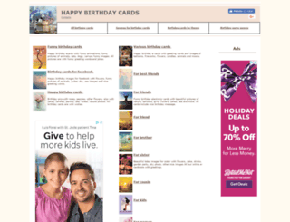 freebirthdaycards.eu screenshot