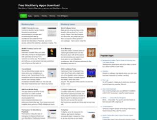 freeblackberryapp.com screenshot