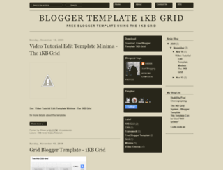 freebloggertemplate-grid1kb.blogspot.com screenshot