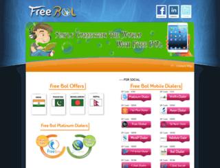freebol.net screenshot
