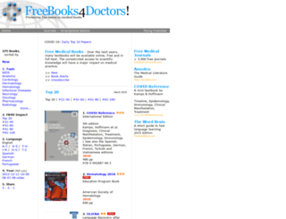 freebooks4doctors.com screenshot