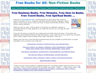 freebooksforall.com screenshot