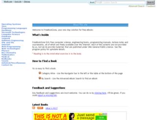 freebookzone.com screenshot