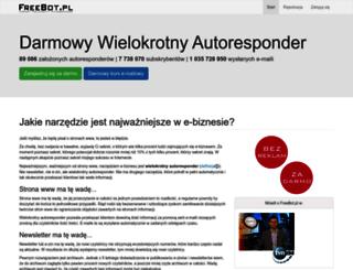 freebot.pl screenshot
