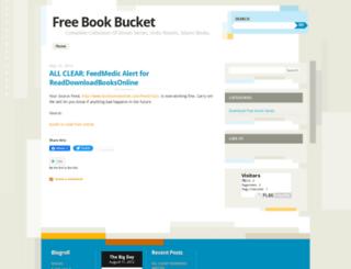 freebucket.wordpress.com screenshot