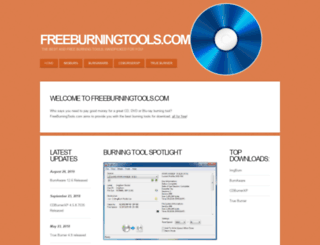 freeburningtools.com screenshot