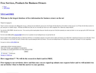 freebusinessservices.weebly.com screenshot