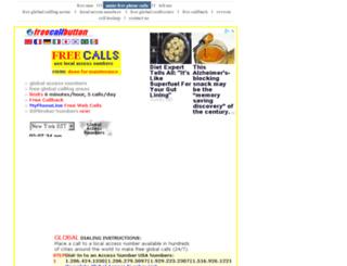 freecallbutton.com screenshot