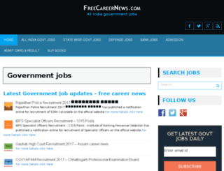 freecareernews.com screenshot