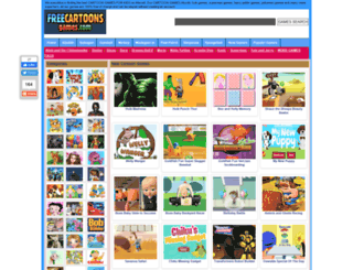 freecartoonsgames.com screenshot