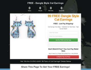 freecatearrings.teesuitex.com screenshot