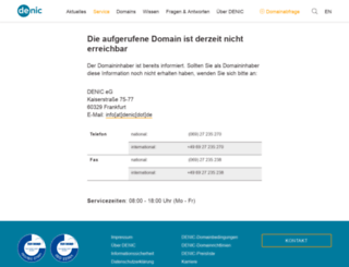 freecccamserver.de screenshot