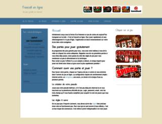 freecellenligne.com screenshot