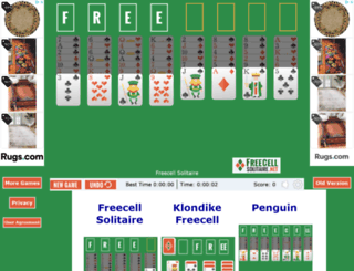 Candystand Freecell at top accessify com