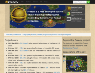 freeciv.org screenshot