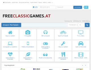 freeclassicgames.at screenshot
