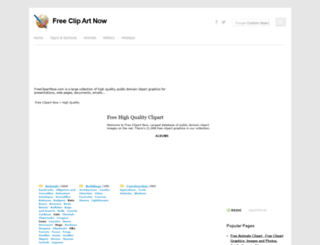 freeclipartnow.com screenshot