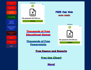 freeclubweb.com screenshot