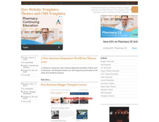 freecmstemplates.blogspot.com screenshot