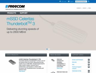 freecom.com screenshot