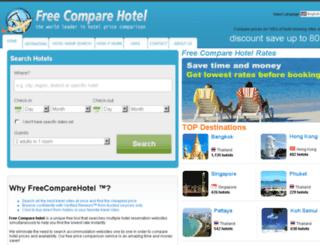 freecomparehotel.com screenshot