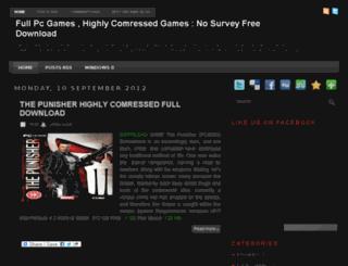 freecompressedgamez.blogspot.in screenshot