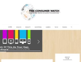 freeconsumerwatch.com screenshot