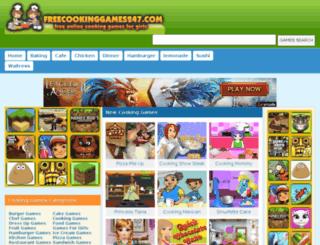 freecookinggames247.com screenshot