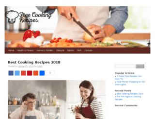 freecookingrecipes.net screenshot
