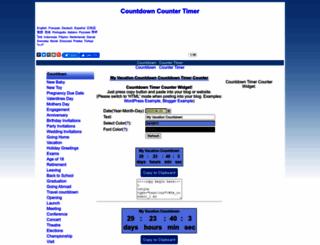 freecountdown.net screenshot