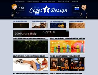 freecoverdesign.com screenshot