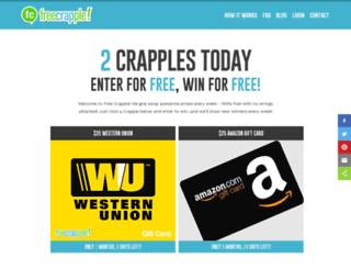 freecrapple.com screenshot