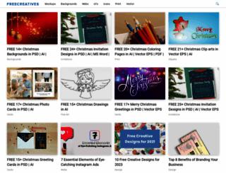 freecreatives.com screenshot