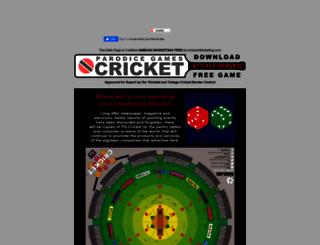 freecricketgames.com screenshot