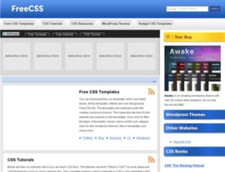 freecss.info screenshot