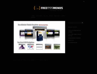 freecssmenus.co.uk screenshot