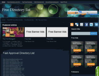 freedirectorysubmission-site.blogspot.in screenshot